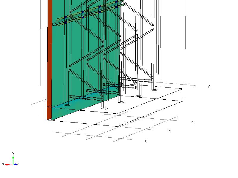 Bottom part construction panel ROMA